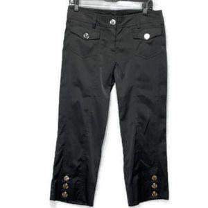 Cache Carpis Black sz8 Silver buttons 2 pockets